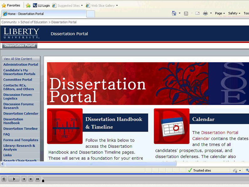 dissertations canada portal The dart-europe partners help to provide researchers with a single european portal for the discovery of electronic theses and dissertations (etds), and they participate in advocacy to influence future european e-theses developments.